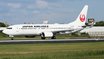 A picture of JA339J - Boeing 737846 - Japan Airlines - © Tokubee