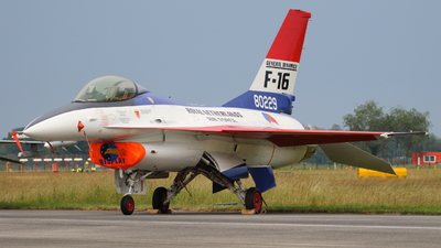 J-229 - General Dynamics F-16A Fighting Falcon - Netherlands - Royal Air Force