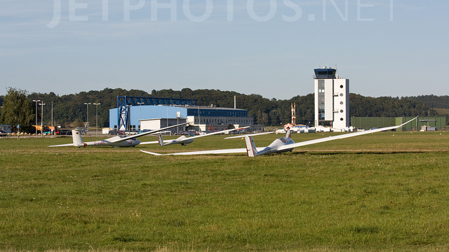A view from Augsburg Airport