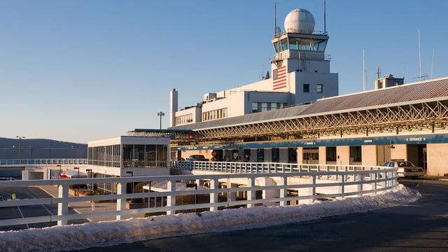 A view from Windsor Locks Bradley International Airport