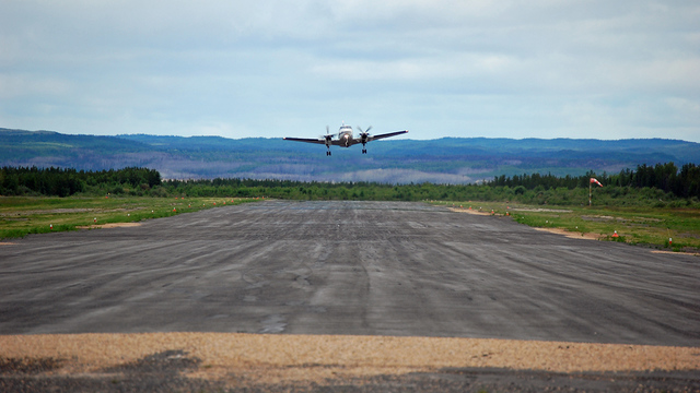 A view from Stony Rapids Airport