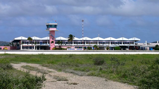 A view from Bonaire Flamingo International Airport