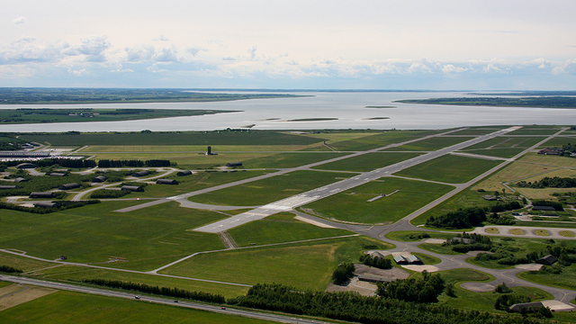 A view from Aalborg Airport