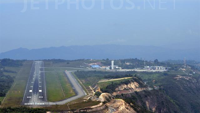 A view from Bucaramanga Palonegro International Airport