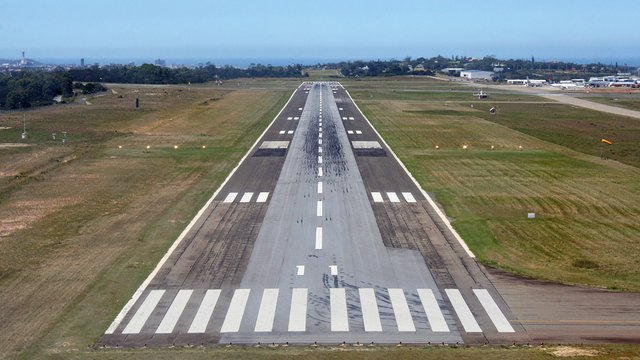 A view from East London Airport