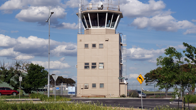 A view from Essendon Airport