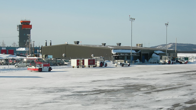A view from Goose Bay Airport