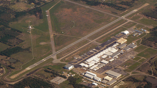 A view from Greenville Majors Airport