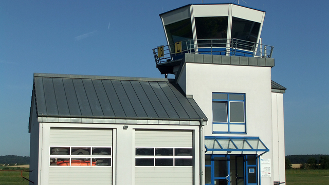 A view from Reichelsheim Airport