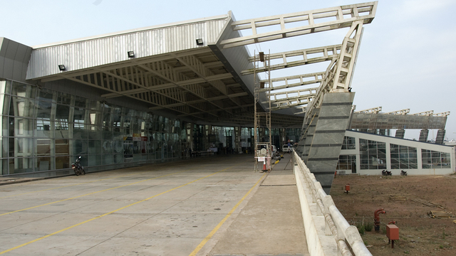 A view from Mangalore International Airport