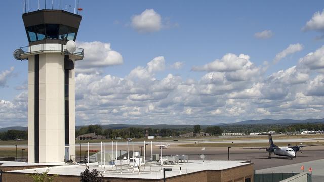 A view from Burlington International Airport