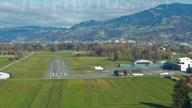 A view from Hohenems Dornbirn Airport