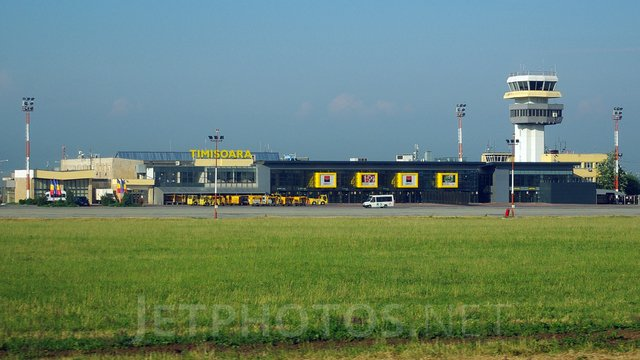 A view from Timisoara Traian Vuia International Airport
