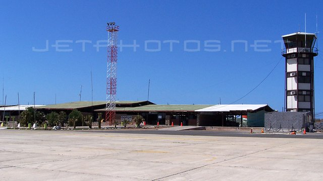A view from Seymour Baltra Galapagos Airport