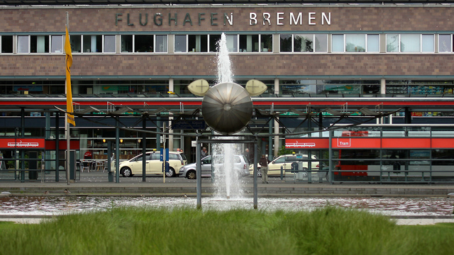 A view from Bremen Airport