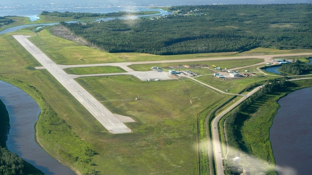 A view from Hay River Merlyn Carter Airport