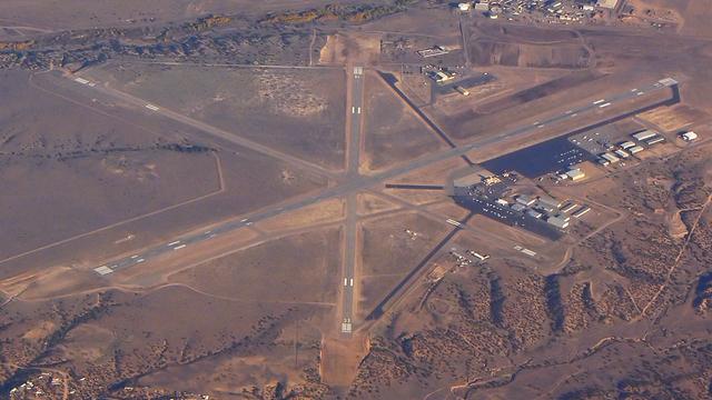 A view from Santa Fe Municipal Airport