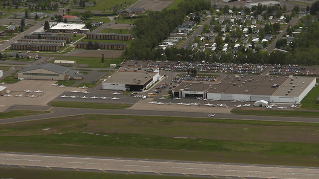 A view from Duluth International Airport
