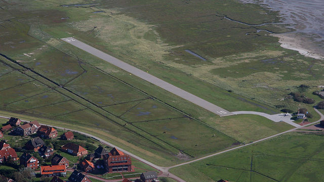 A view from Baltrum Airport