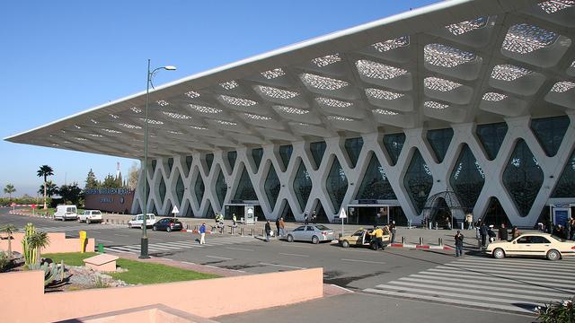 A view from Marrakesh Menara Airport