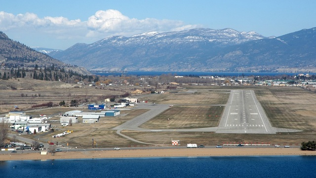 A view from Penticton Regional Airport