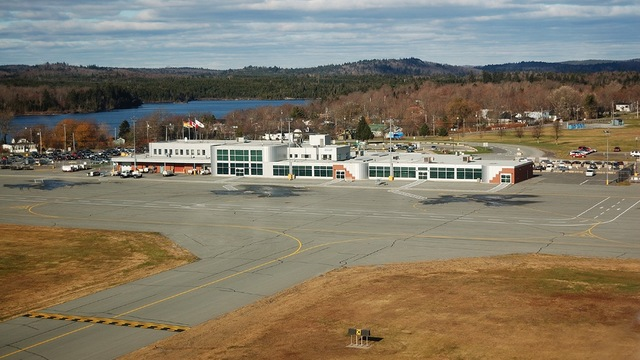A view from Saint John Airport