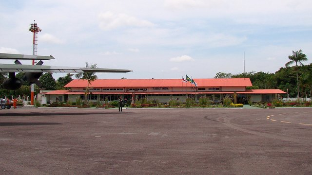 A view from Tabatinga International Airport