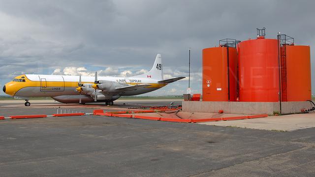 A view from Grande Prairie Airport