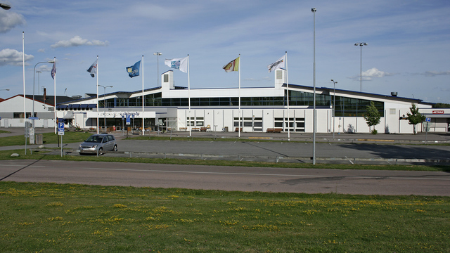 A view from Stockholm Vasteras Hasslo Airport