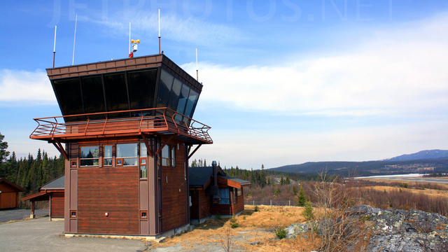 A view from Fagernes Airport