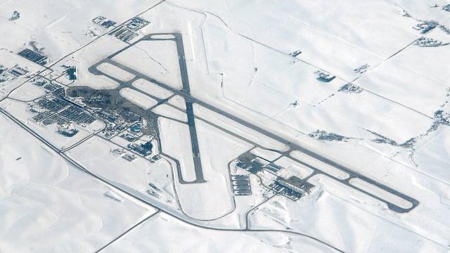 A view from Cedar Rapids Eastern Iowa Airport