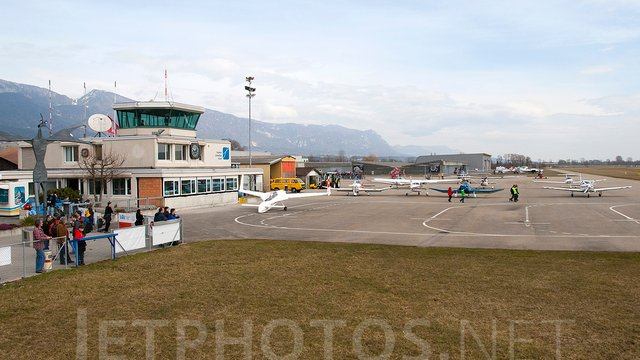 A view from Grenchen Airport