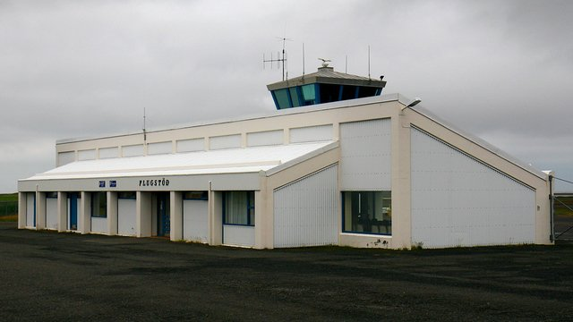 A view from Hofn Hornafjordur Airport