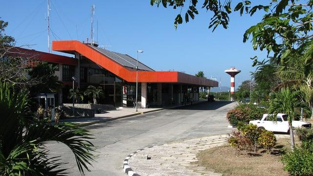 A view from Santiago de Cuba Antonio Maceo Airport