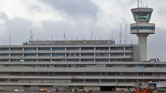 A view from Lagos Murtala Mohammed Airport