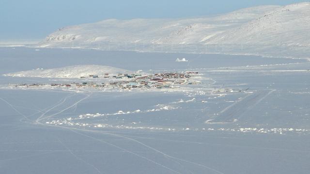 A view from Qikiqtarjuaq Airport