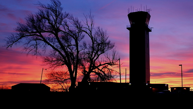 A view from Amarillo Rick Husband  International Airport