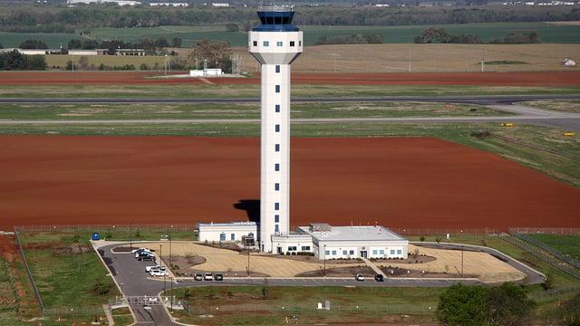 A view from Huntsville International Airport