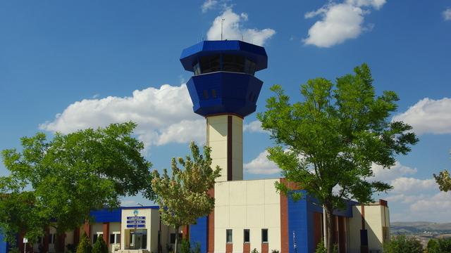 A view from Nevsehir Kapadokya Airport