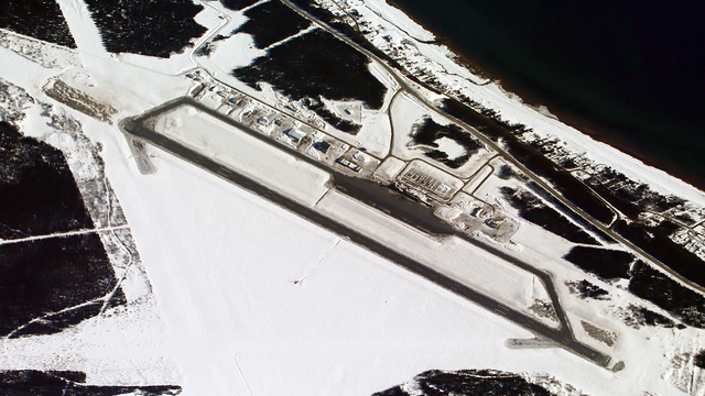 A view from Sept-Iles Airport