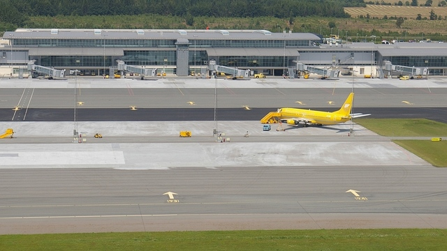 A view from Billund Airport