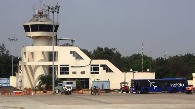 A view from Coimbatore International Airport