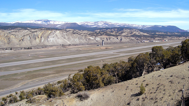 A view from Eagle County Regional Airport