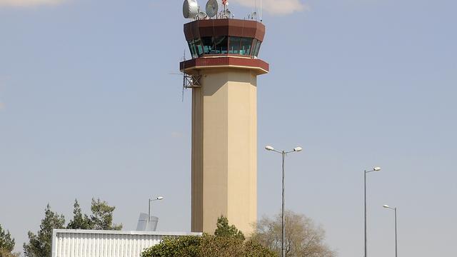 A view from Amman Queen Alia International Airport