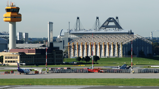 A view from Hamburg Airport