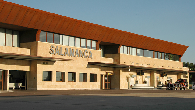 A view from Salamanca Airport