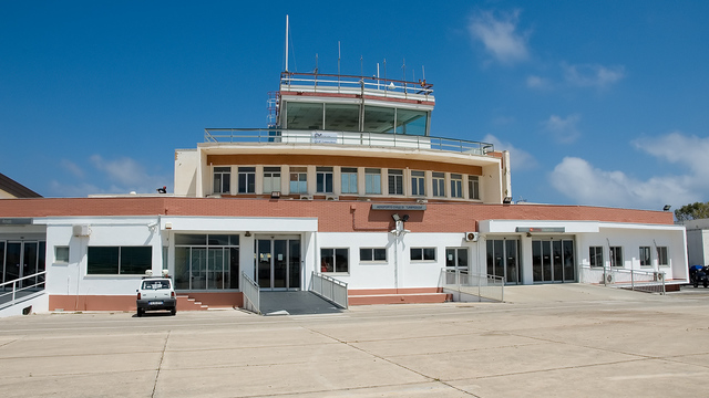 A view from Lampedusa Airport