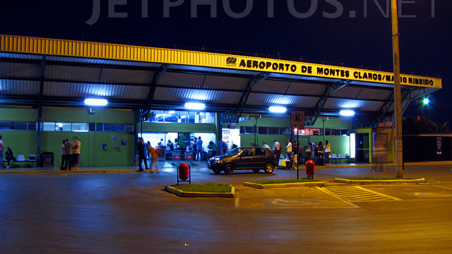 A view from Montes Claros Airport
