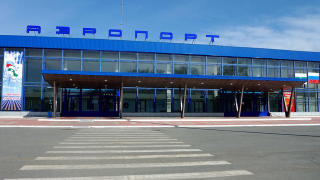 A view from Kurgan Airport