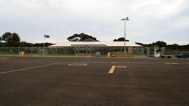 A view from Kingscote Airport